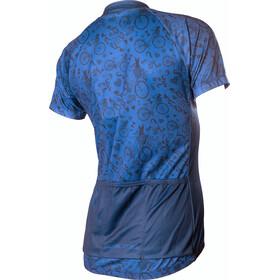 PEARL iZUMi Select Escape LTD Fietsshirt korte mouwen Dames blauw